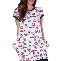 Dámská noční košilka Cats