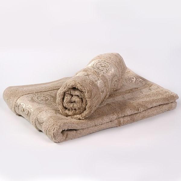 Bambusový ručník Bella krémový