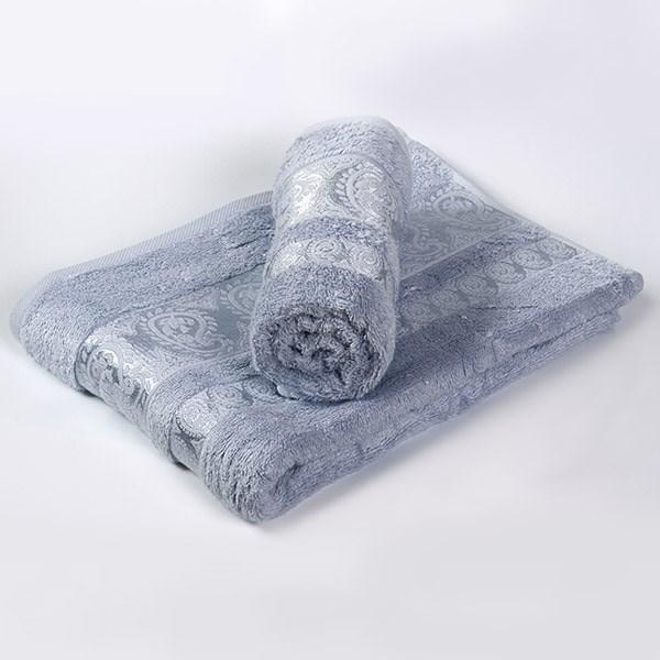 Bambusový ručník Bella světle modrý