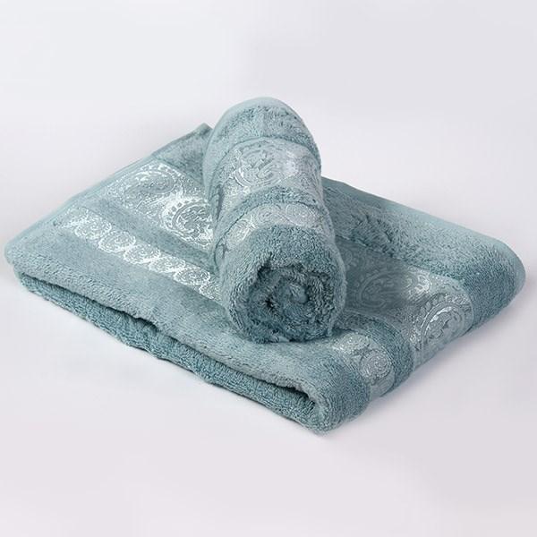 Bambusový ručník Bella tyrkysový