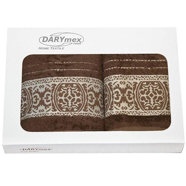 Dárková sada dvou ručníků Orient hnědá