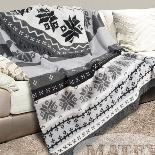 Bavlněná deka Matteo šedá