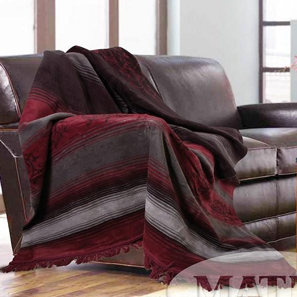 Bavlněná deka Salvador bordó