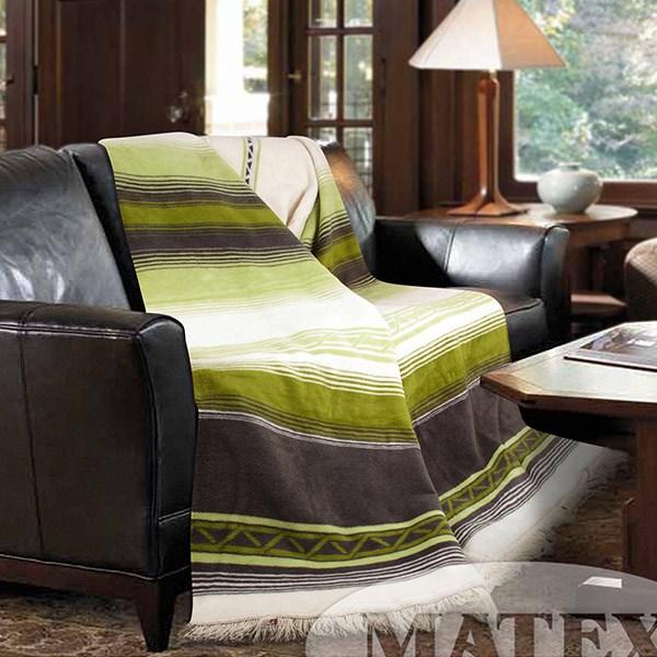 Bavlněná deka Salvador zelená