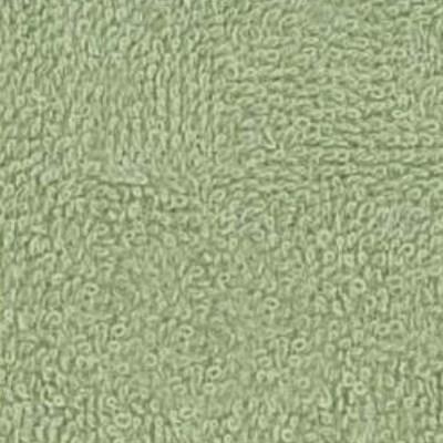 Středně zelené froté prostěradlo