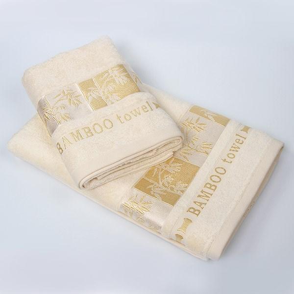 Bambusový ručník Gold ecru