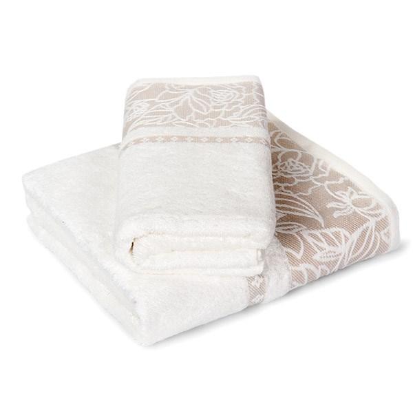 Dárková sada ručníků Eleonora ecru