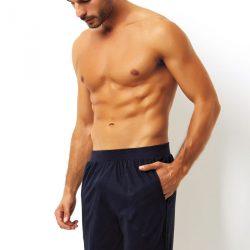 Pánské italské pyžamové kraťasy Blu