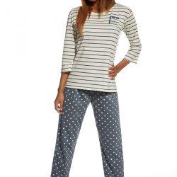 Dámské bavlněné pyžamo Kristin