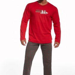 Pánské bavlněné pyžamo Origin Red