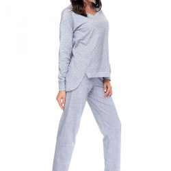 Dámské bavlněné pyžamo Melange